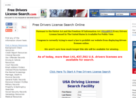 free-drivers-license-search.com