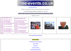 free-events.co.uk