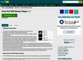 free-flv-php-driven-player.soft112.com