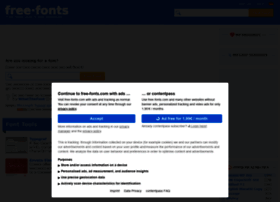 free-fonts.com