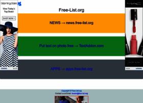 free-list.org