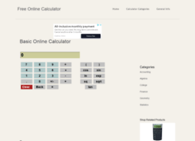 free-onlinecalculator.com