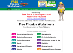 free-phonics-worksheets.com