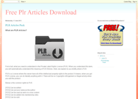 free-plr-articles-download.blogspot.com