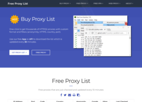free-proxy-list.net