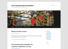 free-questionnaire-templates.esurveyspro.com