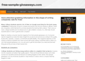 free-sample-giveaways.com