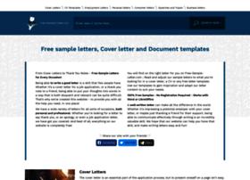 free-sample-letter.com