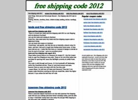 free-shipping-code-2012.blogspot.com