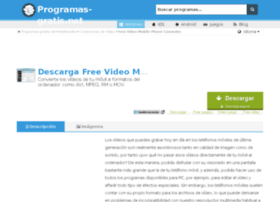 free-video-mobile-phone-converter.programas-gratis.net
