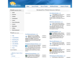 free-website-extractor.winsite.com