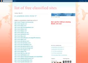 freeallclassifieds.blogspot.in
