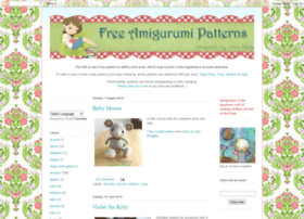 freeamigurumipatterns.blogspot.com