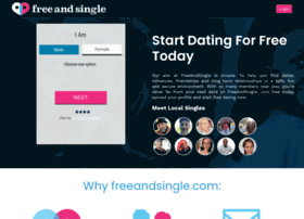 freeandsingle.co.uk