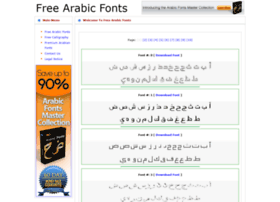 freearabicfonts.com