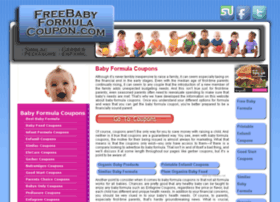 freebabyformulacoupon.com