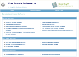 freebarcodesoftware.in