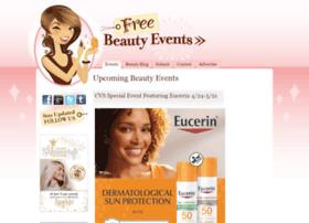 freebeautyevents.com