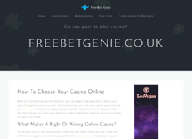 freebetgenie.co.uk