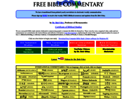 freebiblecommentary.org