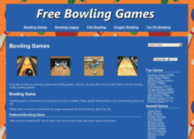 freebowlinggames.biz