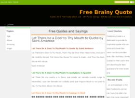 freebrainyquote.com