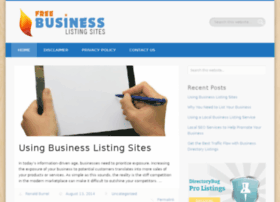 freebusinesslistingsites.com