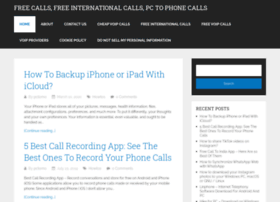 freecallfrompctomobile.org