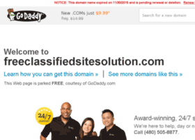 freeclassifiedsitesolution.com