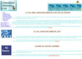 freeclassifiedwebsitelist.com