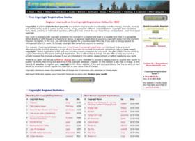 freecopyrightregistration.com