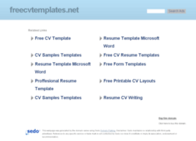 freecvtemplates.net