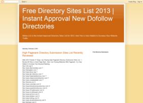 freedirectorysiteslists.blogspot.in