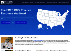 freedmvpracticetests.com