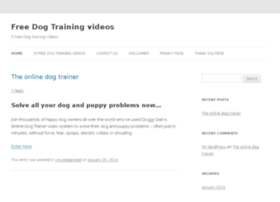 freedogtrainingvideos.net