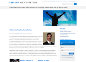 freedomabovefortune.com