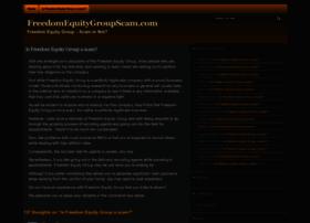 freedomequitygroupscam.com