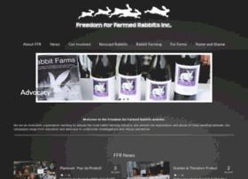 freedomforfarmedrabbits.com.au