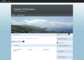 freedomofeducation.edublogs.org