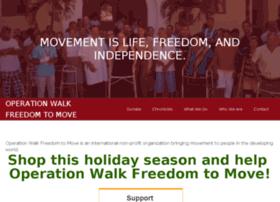 freedomtomovemedicalmissions.org