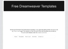 templates for dreamweaver cs6 - dreamweaver templates websites and posts on dreamweaver