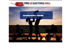 freeelectoralrolluk.com