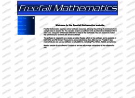 freefallmathematics.com