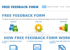 freefeedbackform.com