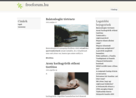 freeforum.hu