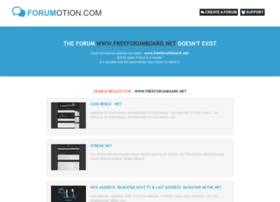 freeforumboard.net