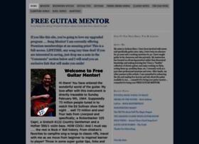 freeguitarmentor.com