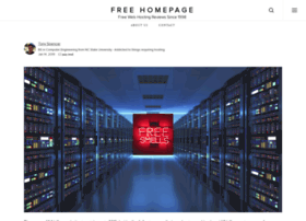 freehomepage.com