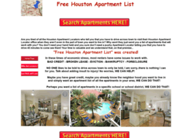 freehoustonapartmentlist.com