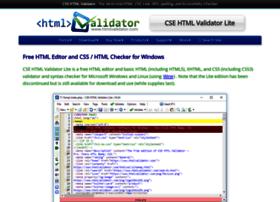 freehtmlvalidator.com